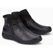 Mephisto Catalina leather ankle boots women - Black