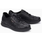 Mephisto Liria black leather lace-up shoe women