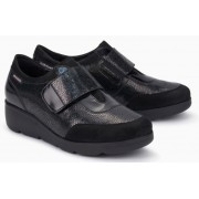 Mephisto Ginger leather slip-on shoe for women black