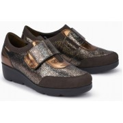 Mephisto Ginger leather slip-on shoe for women brown