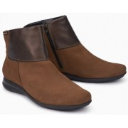 Mephisto Nonie leather ankle boots women - Brown