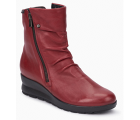 Mephisto Phila leather ankle boots women - Red