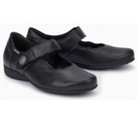 Mobils by Mephisto Flora Leather Slip-On Shoe For Women - Wide Fit - Black