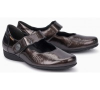 Mobils by Mephisto Flora Leather Slip-On Shoe For Women - Wide Fit - Bronze