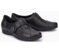 Mephisto Faustine leather slip-on shoe for women black