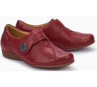 Mephisto Faustine leather slip-on shoe for women red