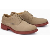Mephisto OLIVIO leather lace-up shoe for men beige
