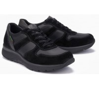 Mephisto Alan leather sneakers for men black