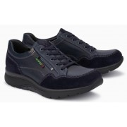 Mephisto Alek leather sneakers for men blue