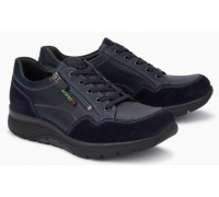 Mephisto Alek leather sneakers for men blue