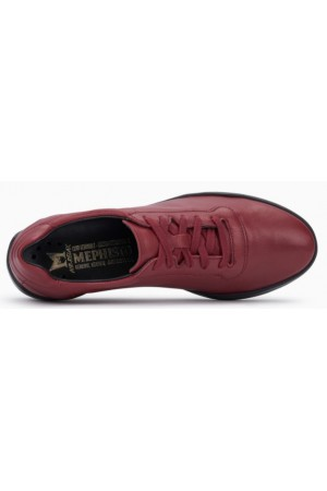 Mephisto CHRIS leather laceshoe for women red