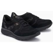 Mephisto Isalys black leather lace shoe women