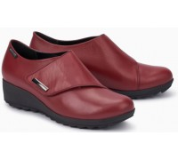 Mephisto Adilia red leather shoe for women