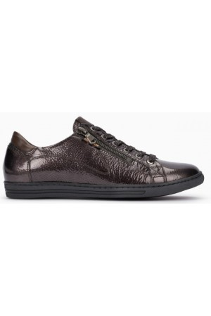 Mephisto Hawai bronce leather lace shoe women