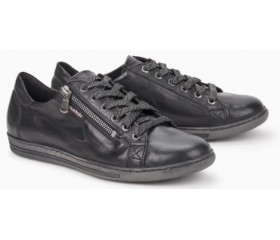 Mephisto Hawai black leather lace shoe women