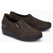 Mephisto Bertrane leather brown slip-on shoes women