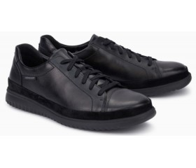 Mephisto Thomas Win leather sneakers for men black