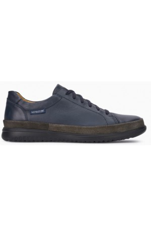 Mephisto Thomas Win leather sneakers for men blue