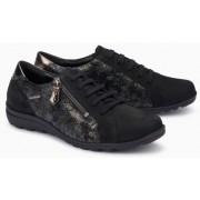 Mephisto Camilia black leather lace shoe women