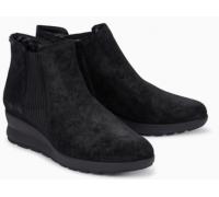 Mephisto Pienza suede ankle boots women - Black
