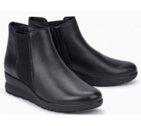 Mephisto Pienza leather ankle boots women - Black
