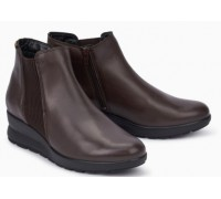 Mephisto Pienza leather ankle boots women - Brown
