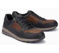 Mephisto BRADLEY leather sneakers for men black