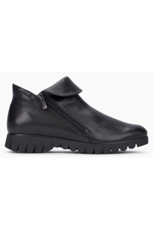 Mephisto Lou leather ankle boots women - Black