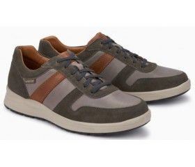 Mephisto VITO randy leather sneaker for men grey