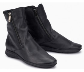 Mephisto Nessia leather ankle boots women - Black