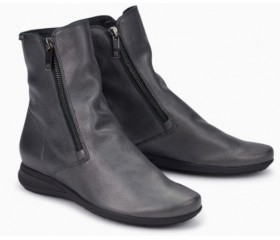 Mephisto Nessia leather ankle boots women - Grey