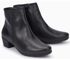 Mephisto Ilsa leather ankle boots women - Black