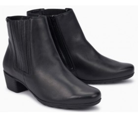 Mephisto Ivanie leather ankle boots women - Black