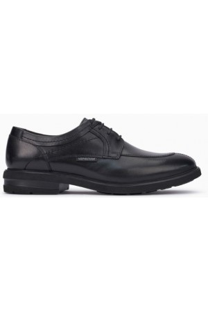 Mephisto Oswaldo leather lace shoe for men  black