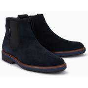 Mephisto Benson blue leather chealsea boot for men