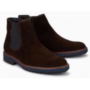 Mephisto Benson brown leather chealsea boot for men