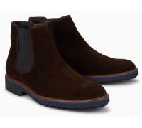 Mephisto Benson brown suede chelsea boot for men