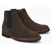 Mephisto Benson grey leather chealsea boot for men