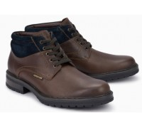 Mephisto Lukas leather lace-up shoe for men brown