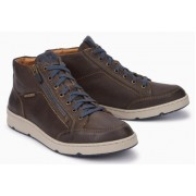 Mephisto Jules leather sneakers for men brown