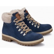 Mephisto Zelda leather ankle boots women - blue