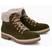 Mephisto Zelda leather ankle boots women - green
