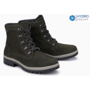 Mephisto Zorah leather ankle boots women - grey
