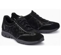 Mephisto Yael leather laceshoe for women black