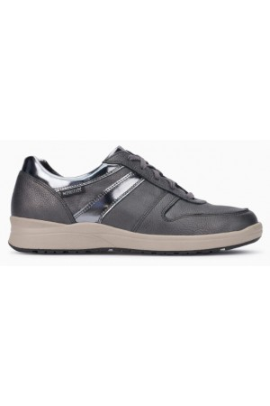Mephisto Rebeca leather sneakers for women grey