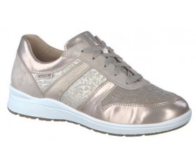 Mephisto Rebeca leather sneakers for women beige