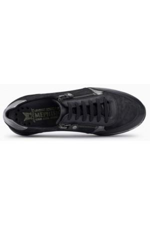 Mephisto Monia leather sneaker for women black