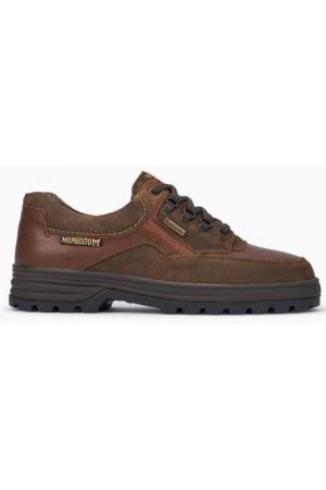 Mephisto BARRACUDA waterproof men strong heavy shoe brown Gore-Tex