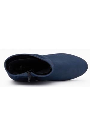 Mephisto Agatha nubuck ankle boots women - blue