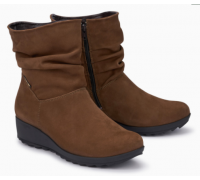 Mephisto Agatha nubuck ankle boots women - brown